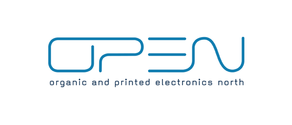 Logo open - organic and printed electronics north