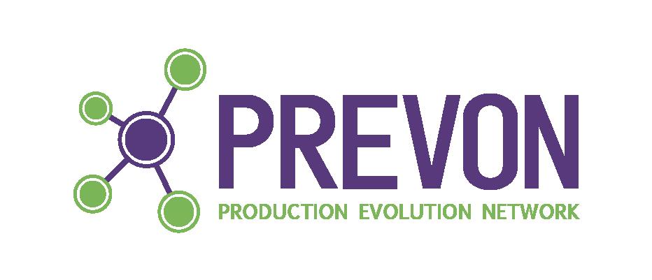Logo PREVON - Production Evolution Network